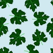 Seamless pattern of grape leaves — Vetorial Stock