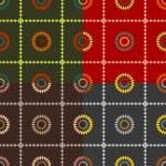 Set of symmetric patterns — Stock Vector #67227643