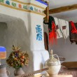 The interior of a typical old ukrainian village house — Stock Photo #79321862