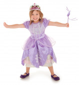 Little Fairy Princess Happily Granting a Wish to Someone — Stock Photo