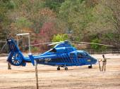 Indian Government Chopper — Stock Photo