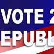 Republican election Sticker for 2016 — Stock Photo #60052353