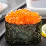 Close up of gunkan sushi — Stock Photo #57098343