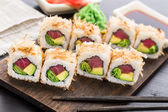 Sushi roll with tuna — Stock Photo