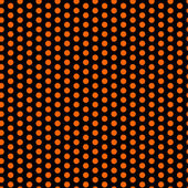 Halloween Seamless Dots Pattern Orange and Black — Stock Vector