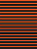 Halloween Seamless Stripe Pattern Orange and Black — Vector de stock