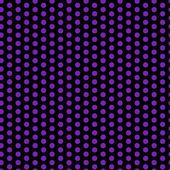 Halloween Seamless Dots Pattern Purple and Black — Stock Vector