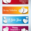 Valentines Day Banners — Stock Vector #62090777