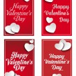 Valentines Day Banners — Stock Vector #62090789