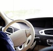 Car driver — Stock Photo