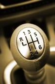 Gear lever — Stock Photo