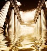 Grecki filarów — Zdjęcie stockowe