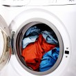 Clothes in laundry — Stock Photo #63740985