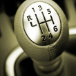 Gear lever — Stock Photo #75748577