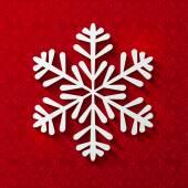 Papper snöflinga — Stockvektor