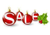 クリスマスの販売の概念 — ストックベクタ
