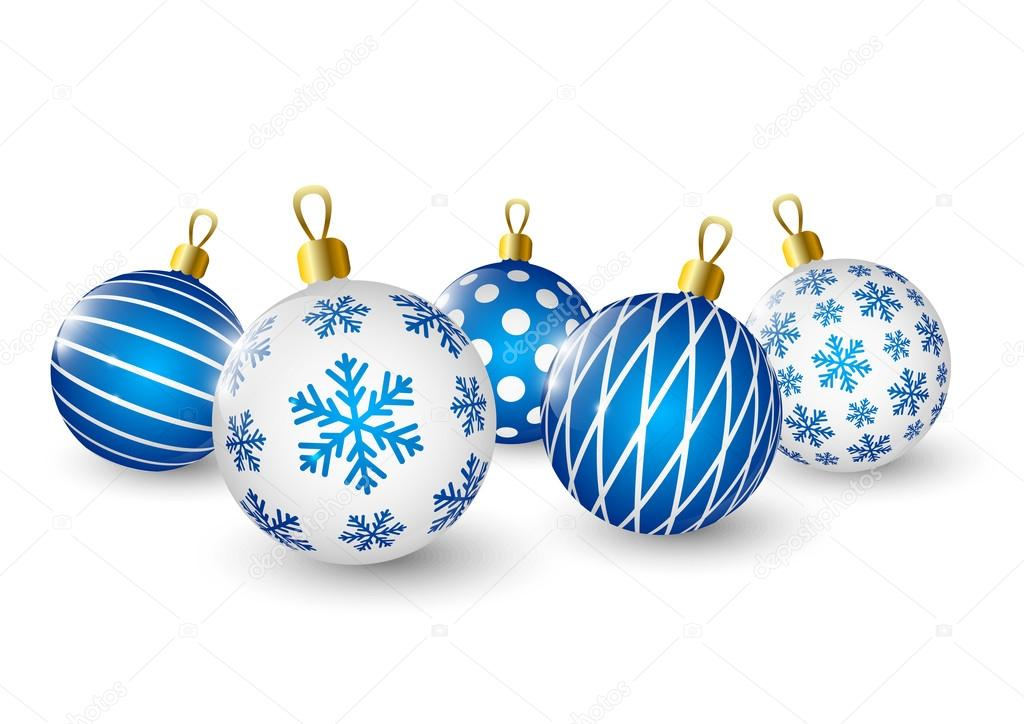 Bolas de navidad azul archivo im genes vectoriales huhli13 56335335 - Fotos de bolas de navidad ...