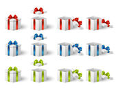 Giftboxes — Stockvector