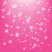 Stars on pink background — Stock Vector