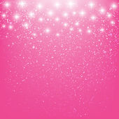 Звезды на розовом фоне — Cтоковый вектор
