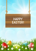 Easter holiday card — Stock Vector