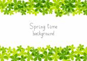 Spring time background — Stock Vector