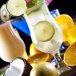 Various cocktails with fruits — Stock Photo #52047751