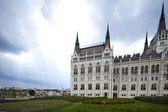 Hungarian Parliament building — Stock Photo