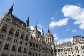 Hungarian Parliament building — Stock Photo