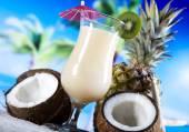 Tropical drinks — Стоковое фото