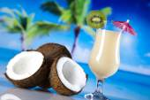 Tropical drinks — Stock Photo