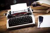 Retro schrijfmachine — Stockfoto