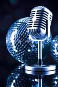 Retro Microphone — Zdjęcie stockowe