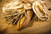 Baked traditional bread — Stock Photo