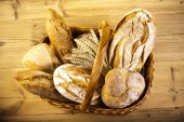 Traditional baked breads — Stock Photo