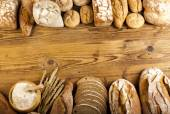 Bread frame — Stock Photo