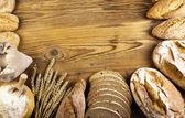 Bread frame — Stock Photo