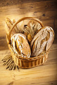 Traditional baked breads — Foto de Stock