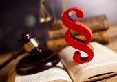 法と正義の概念 — ストック写真