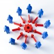 Conceptual image of teamwork — Stock Photo #52101821