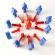 Conceptual image of teamwork — Stock Photo #52103943