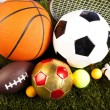 ������, ������: Sports balls with equipment
