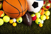 Bolas de esportes — Fotografia Stock