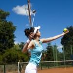 Tennis player — Stock Photo #52117327