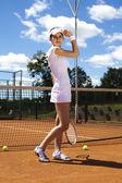 Tennis player — Photo