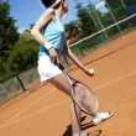 Tennis player — Stock Photo #52122205