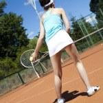 Tennis player — Stock Photo #52122509