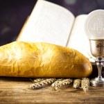 Symbol chrześcijaństwa religią — Zdjęcie stockowe #53075219