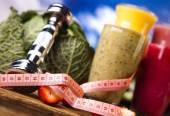 Sağlıklı beslenme, protein karışımlarından — Stok fotoğraf