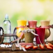 Healthy diet, protein shakes — Stock Photo #56681883